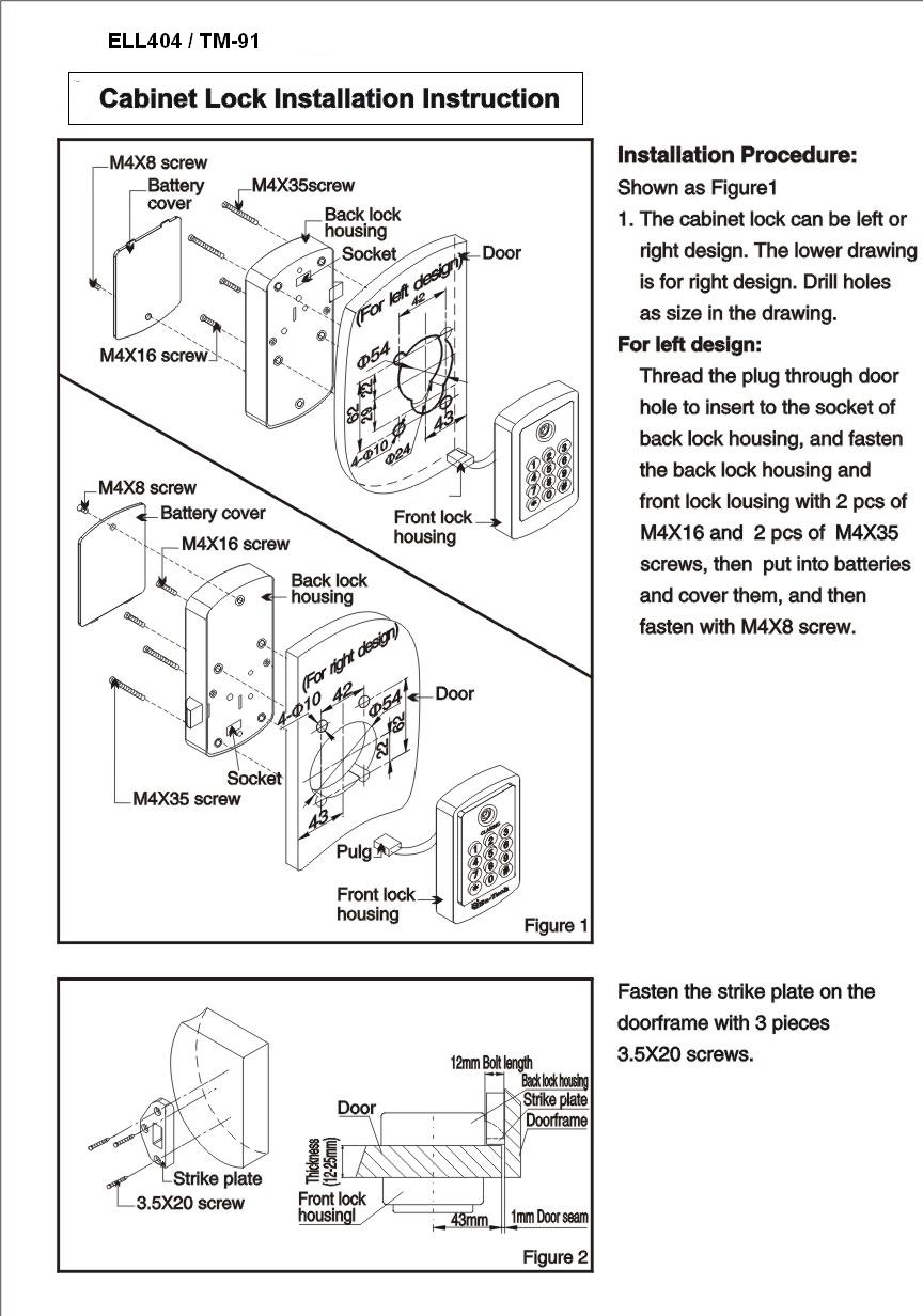 10 installation and documentation keyless entry locks keyless ell404 installation diagram